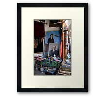 Russian influence Framed Print