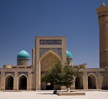 Mir-i-Arab Madrassa & Kalon Minaret by Gillian Anderson LAPS, AFIAP