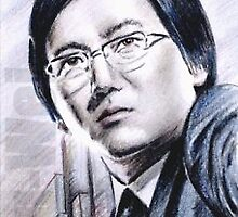 Masi Oka mini-portrait by wu-wei