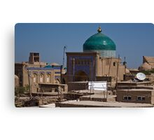 Rooftops of Khiva Canvas Print