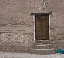 Khiva doorway by Gillian Anderson LAPS, AFIAP