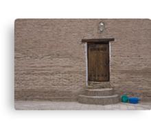 Khiva doorway Canvas Print