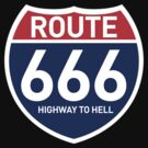 ROUTE 666 HIGHWAY TO HELL by viperbarratt