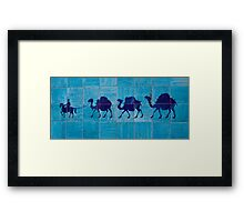 Tile detail Framed Print