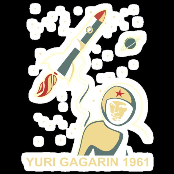 Gagarin by Anastasiia Kucherenko