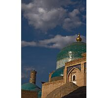 Corners, dome & minaret Photographic Print