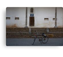 Streetsweeper's bike Canvas Print