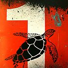 An Ocean of oil - Turtle by Miriam Shilling