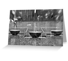 Water Water Everywhere Nor Any Drop To Drink - Sydney - Australia Greeting Card