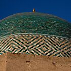 Green dome detail by Gillian Anderson LAPS, AFIAP
