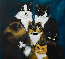 """Heavenly Cats"" by Gabriella Nilsson"
