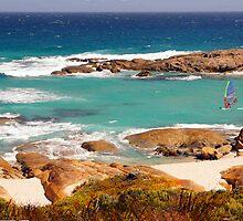 Rocky shore of Light Beach by georgieboy98