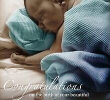 Newborn Baby Boy Remembering His Sisters by CarlyMarie