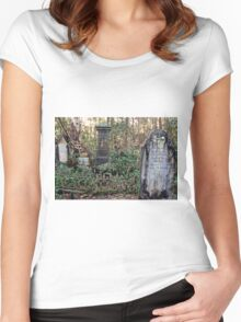 Tumbulgum Cemetery Women's Fitted Scoop T-Shirt