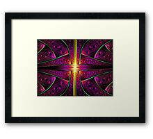 Vertical Gold Framed Print