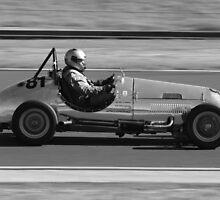 Old Race Car by SkyPhotos