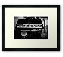 Viva la musica - one Framed Print