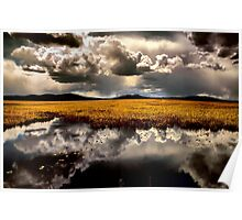 Klamath Marsh Afternoon - USA - Poster