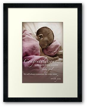 Newborn Baby Girl Remembering Her Sister by CarlyMarie