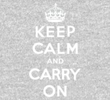Keep Calm and Carry On One Piece - Long Sleeve
