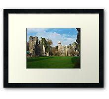 Stone Forrest Framed Print