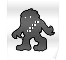 Solo Space Ape - Monochrome  Poster