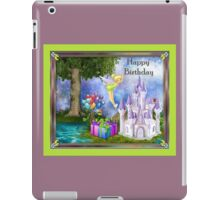 Tinkerbell Happy Birthday Gifts iPad Case/Skin