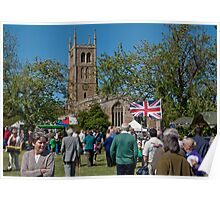 English Fete - stock image Poster