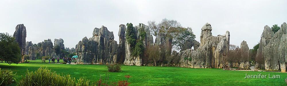 Maze of Stones by Jennifer Lam