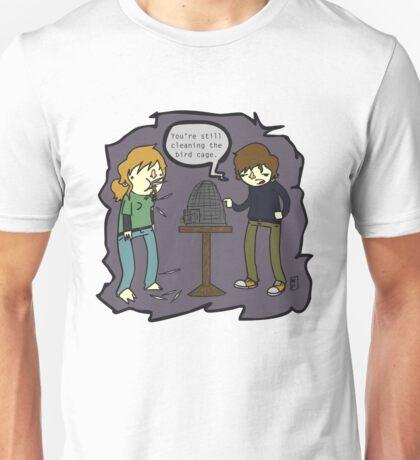 Clean That Bird Cage!! Unisex T-Shirt