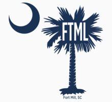 Fort Mill Destination Palmetto Moon by PalmettoTrading