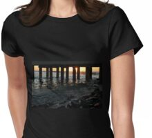 pier at lorne Womens Fitted T-Shirt