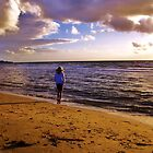 Sunset on Frankston Beach by Suziemgw