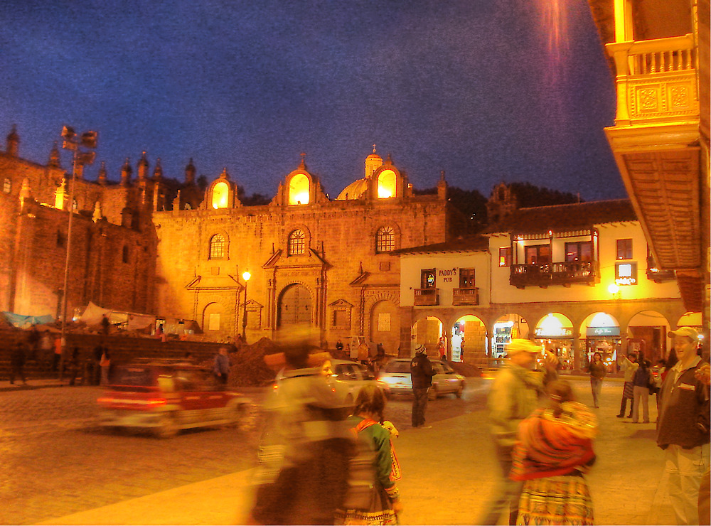 Cusco Night Life- An Evening at Paddy's Pub  by Edith Reynolds