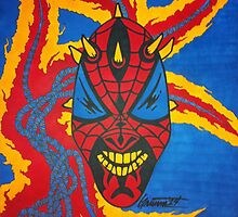 SpiderMaul - Original Drawing by TheArtistGrimm