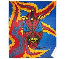 SpiderMaul - Original Drawing Poster