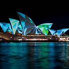 Vivid Opera House by Mark Knighton
