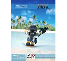 MNU diving suit 3 Photographic Print