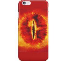 Sauron eye mordor iPhone Case/Skin