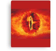 Sauron eye mordor Canvas Print