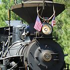 Sumpter Valley Railroad - Blue Mountain Blessings by BettyEDuncan