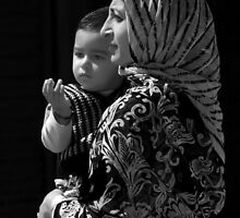Mother and Child-Leh by Mukesh Srivastava