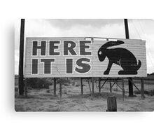Route 66 - Jack Rabbit Trading Post Canvas Print