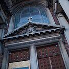 Doorway of St. Francis by John Cruz