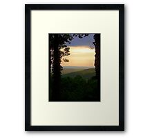 Highland Serenity Framed Print