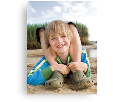 Davids Idea Canvas Print