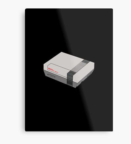 NES Metal Print
