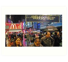 42nd Street - New York City Art Print