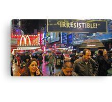 42nd Street - New York City Canvas Print