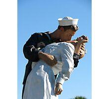 "Statue of ""Unconditional Surrender"" - Sarasota, Florida Photographic Print"